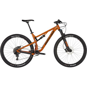 "Santa Cruz Tallboy 3 AL R-Kit 29"" gloss rust and black"